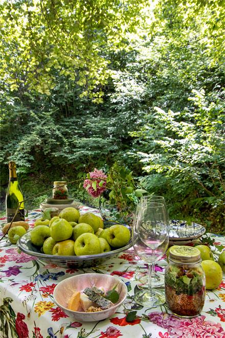 nature manzanas